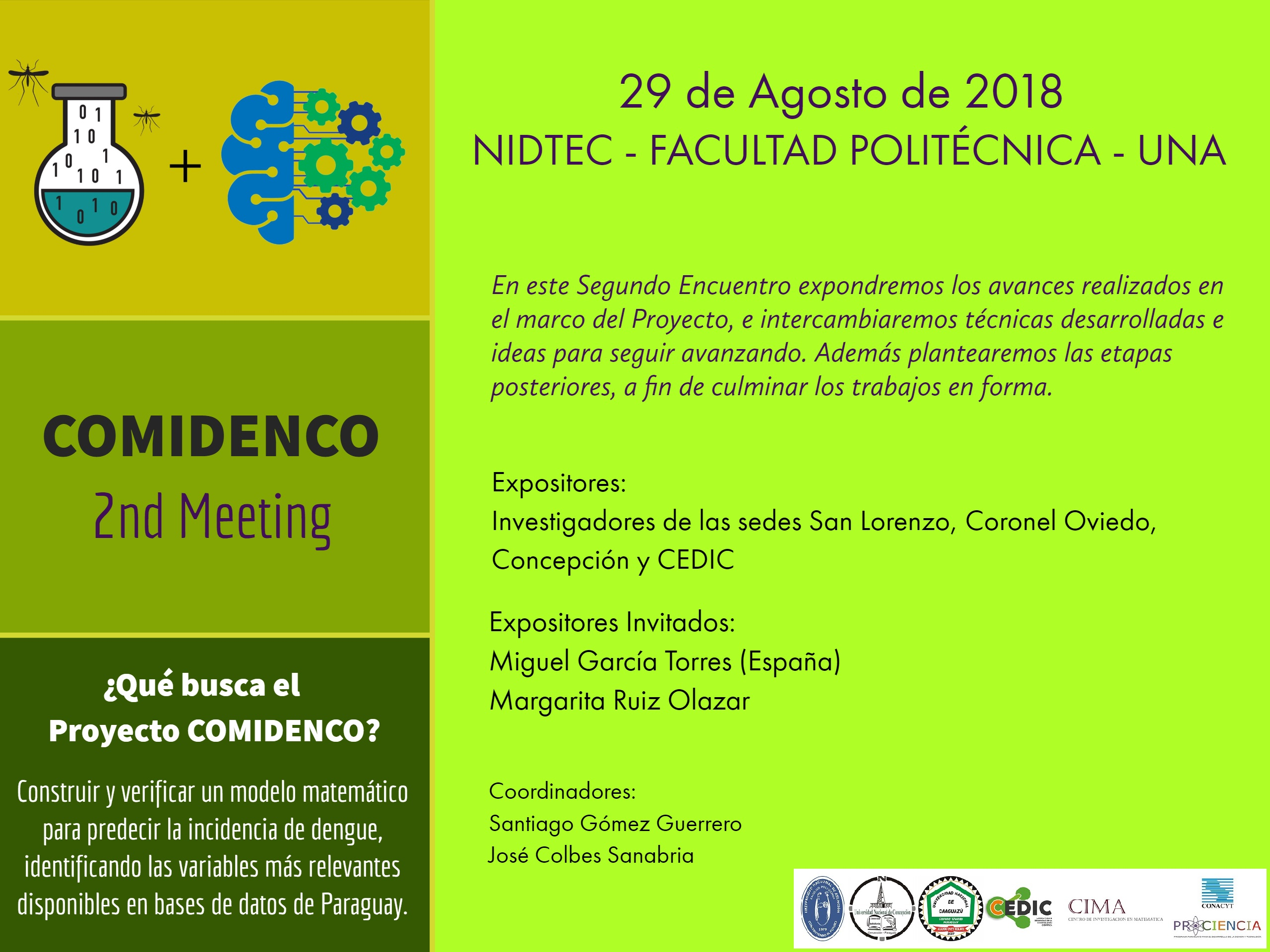 afiche 2nd comidenco meeting